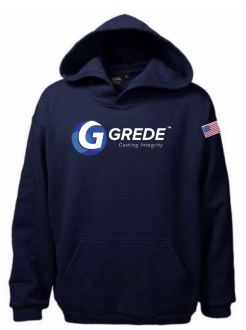 Heavyweight Pullover Hoodie-USA Made