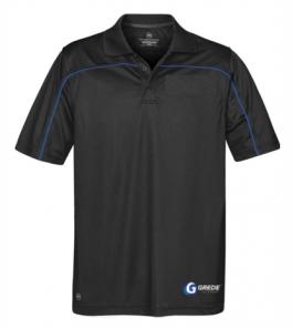 CLEARANCE - Men's Sport Polo-Black