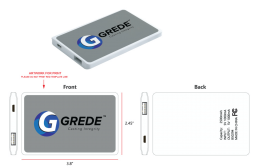GREDE Portable Power Bank